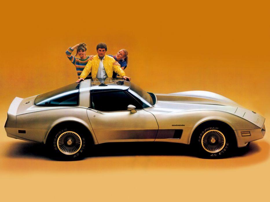 1982 Chevrolet Corevette muscle supercar supercars classic wallpaper