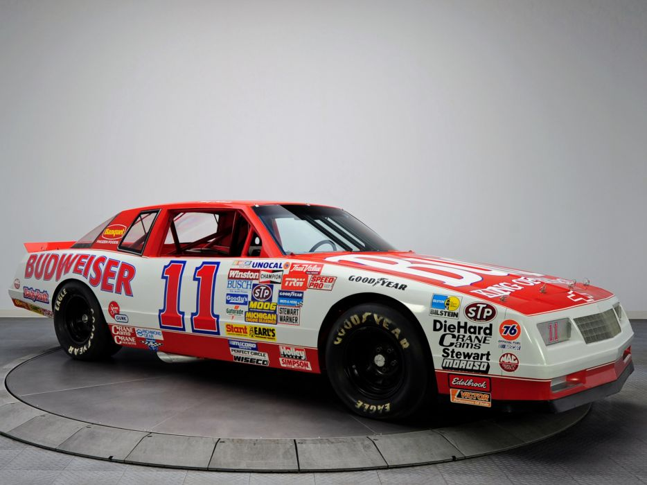1988 Chevrolet Monte Carlo S-S NASCAR race racing wallpaper
