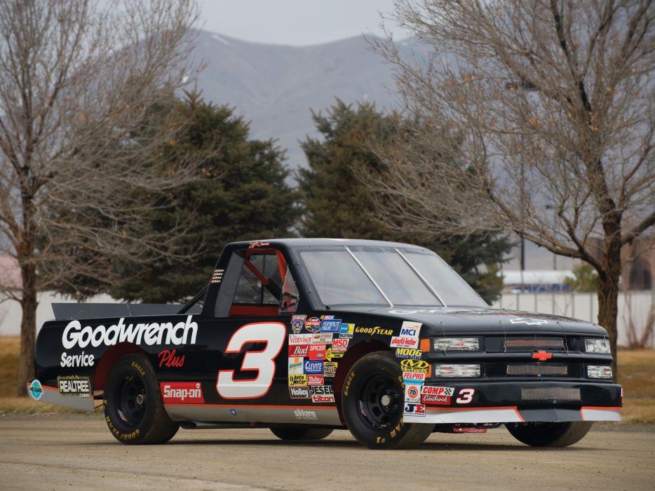 1996 Chevrolet Silverado NASCAR Craftsman race racing wallpaper