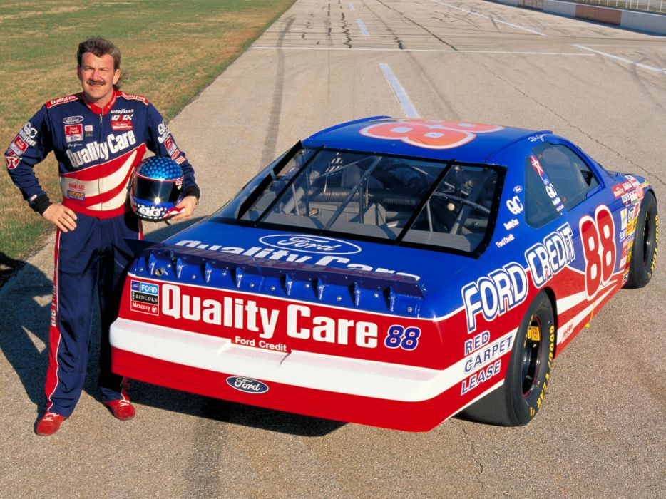 1997 Ford Taurus NASCAR race racing wallpaper