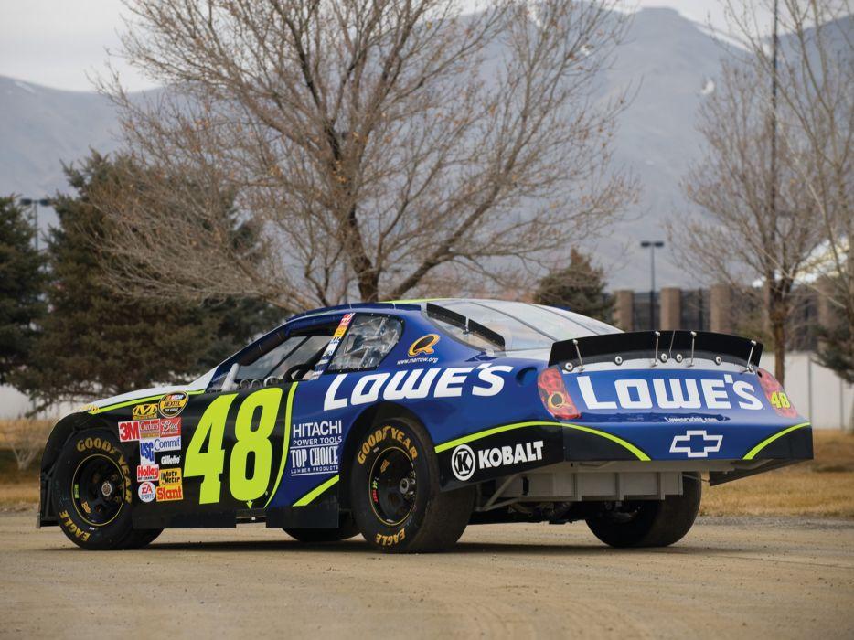 2006 Chevrolet Monte Carlo S-S NASCAR Nextel race racing        h wallpaper