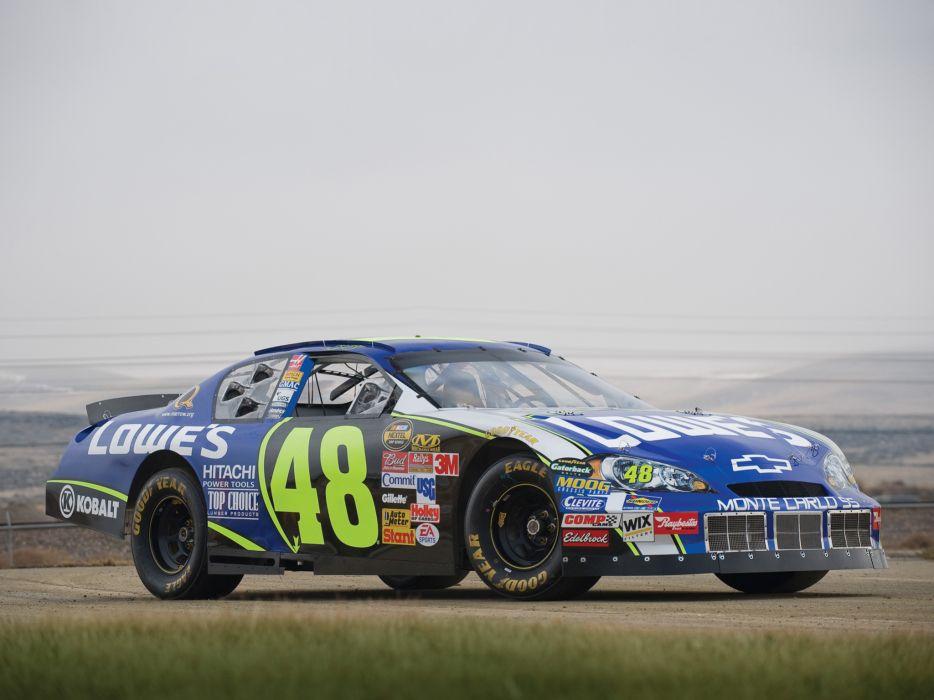 2006 Chevrolet Monte Carlo S-S NASCAR Nextel race racing  gg wallpaper