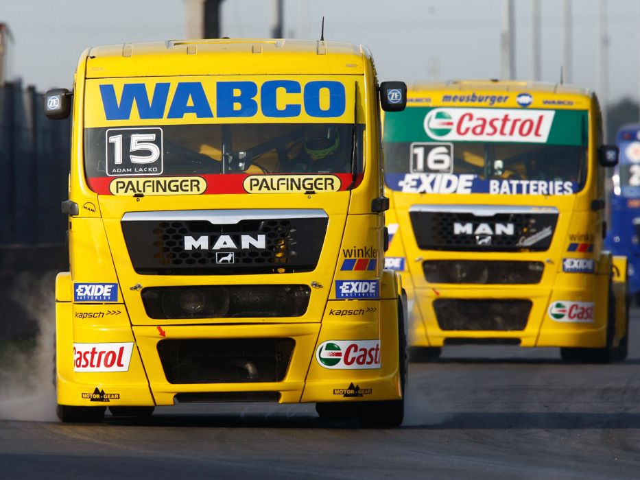 2006 MAN-TG semi tractor truck trucks race racing      g wallpaper