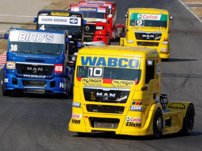 2006 MAN-TG semi tractor truck trucks race racing f wallpaper