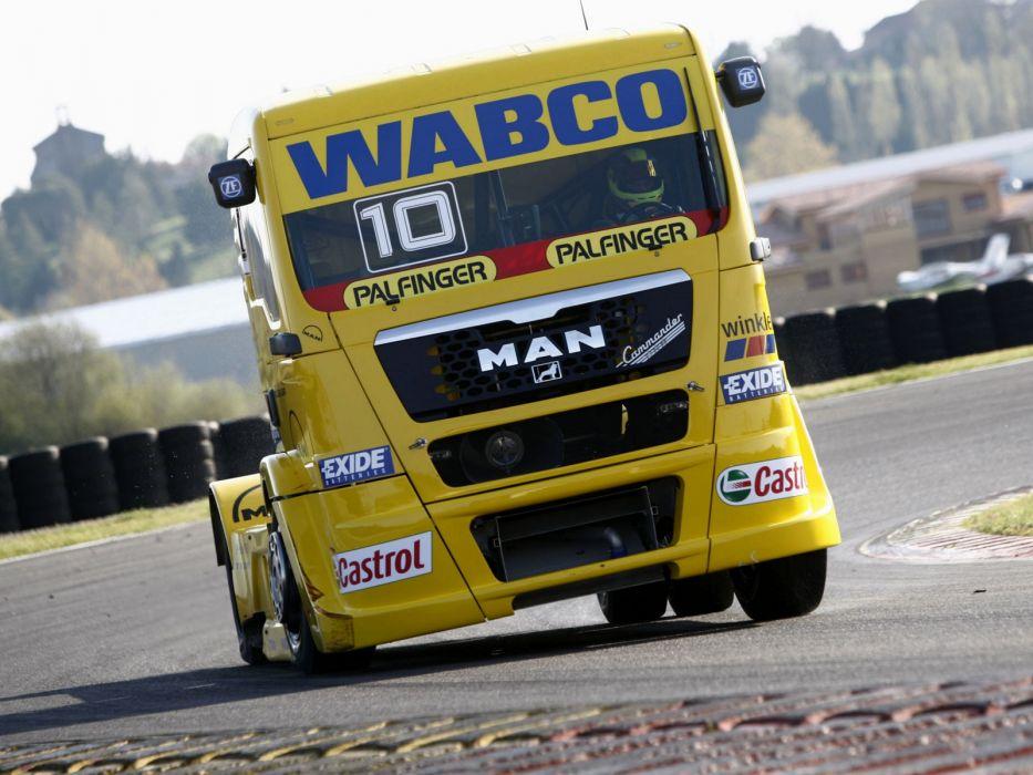 2006 MAN-TG semi tractor truck trucks race racing  e wallpaper