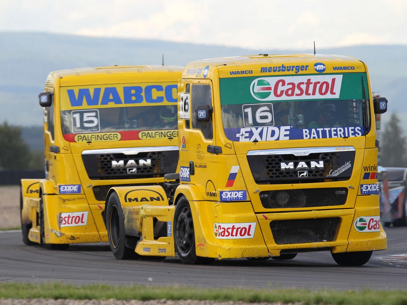 racing semi trucks