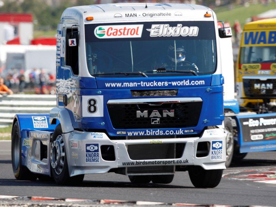 2006 MAN-TG semi tractor truck trucks race racing q wallpaper