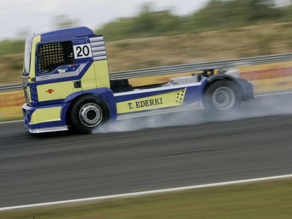 2006 MAN-TG semi tractor truck trucks race racing wallpaper
