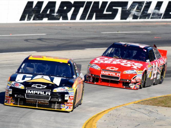 2007 Chevrolet Impala NASCAR Sprint Cup race racing g wallpaper