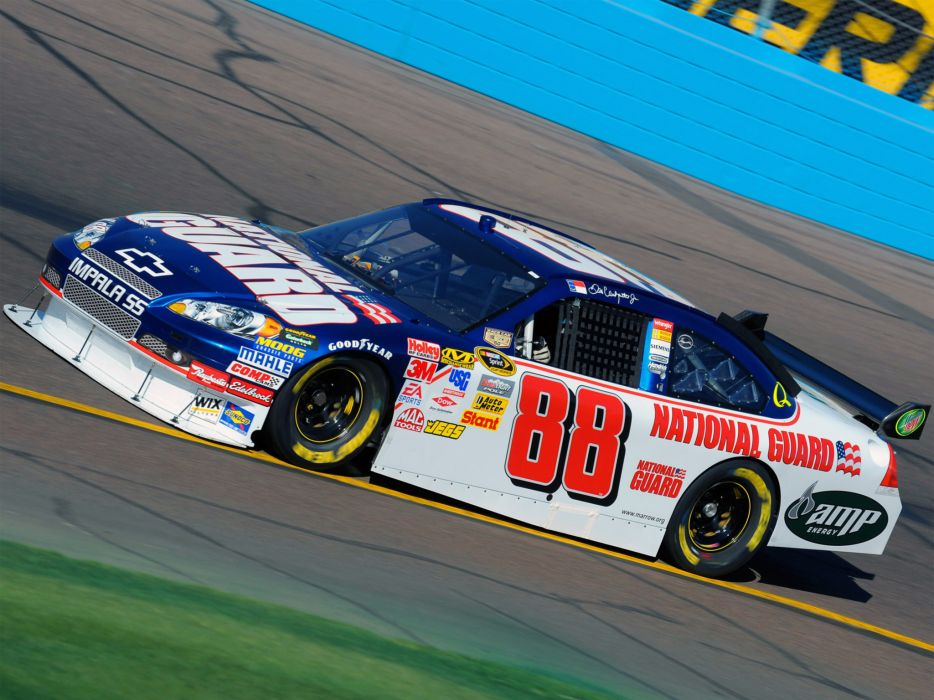 2007 Chevrolet Impala S-S NASCAR Sprint Cup race racing    gw wallpaper