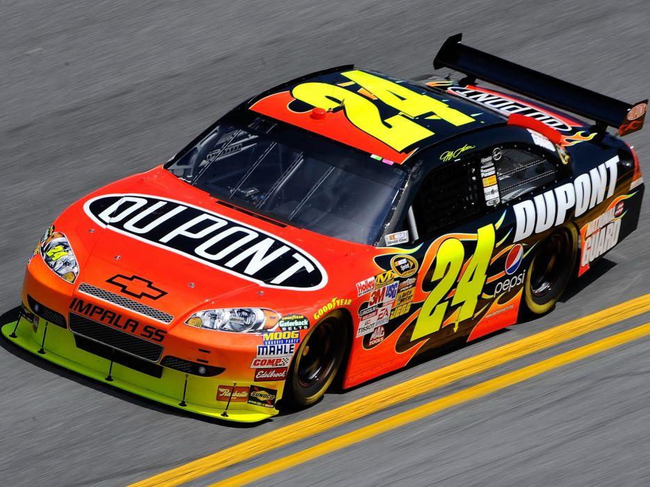 2007 Chevrolet Impala S-S NASCAR Sprint Cup race racing e wallpaper