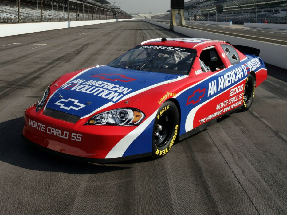 2007 Chevrolet Monte Carlo S-S NASCAR Nextel race racing q wallpaper
