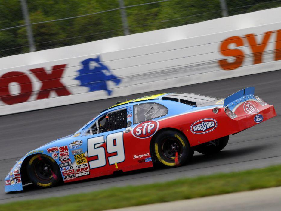 2008 Ford Fusion NASCAR Sprint Cup race racing e wallpaper