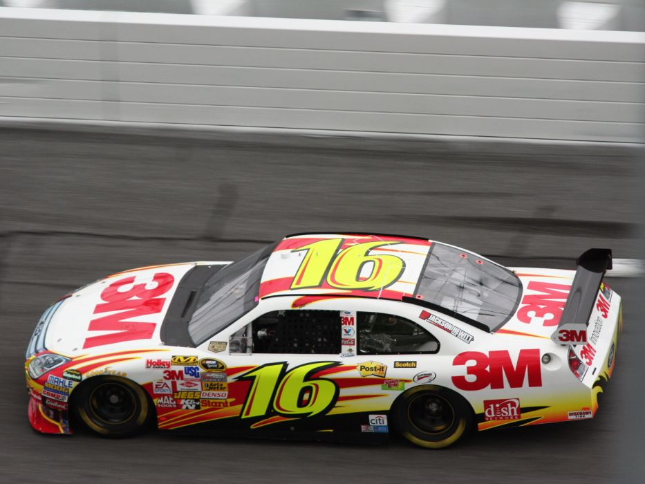 2008 Ford Fusion NASCAR Sprint Cup race racing q wallpaper