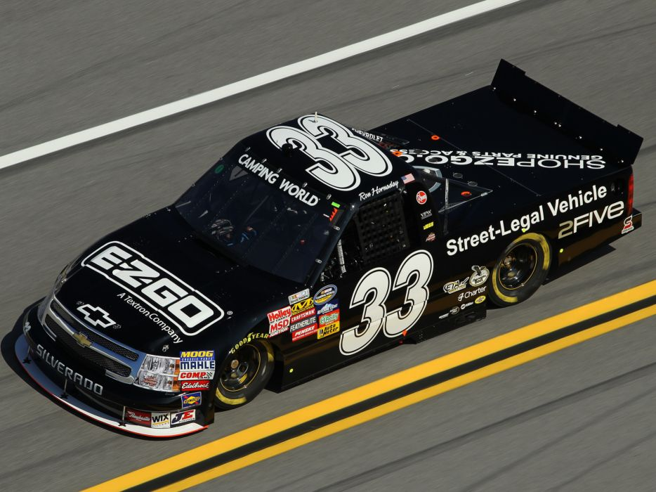 2009 Chevrolet Silverado NASCAR Camping World Series race racing     gh wallpaper