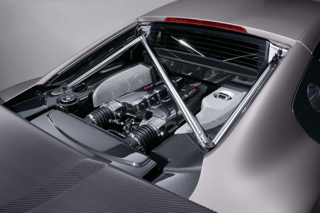 2010 ABT Audi R-8 GTR engine engines   d wallpaper