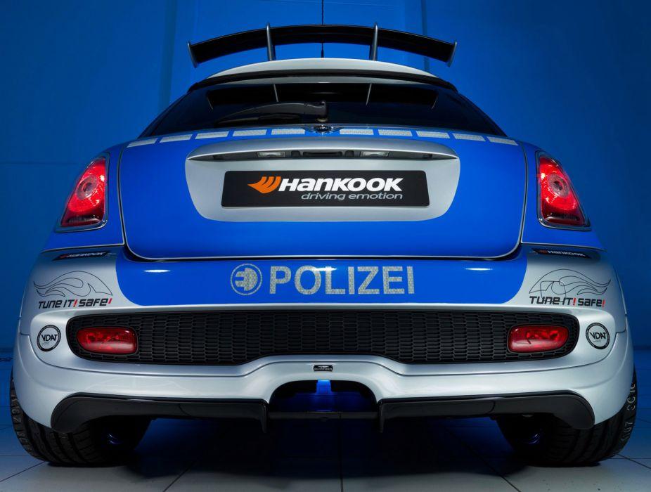 2010 AC-Schnitzer MINI-E Police mini      k wallpaper