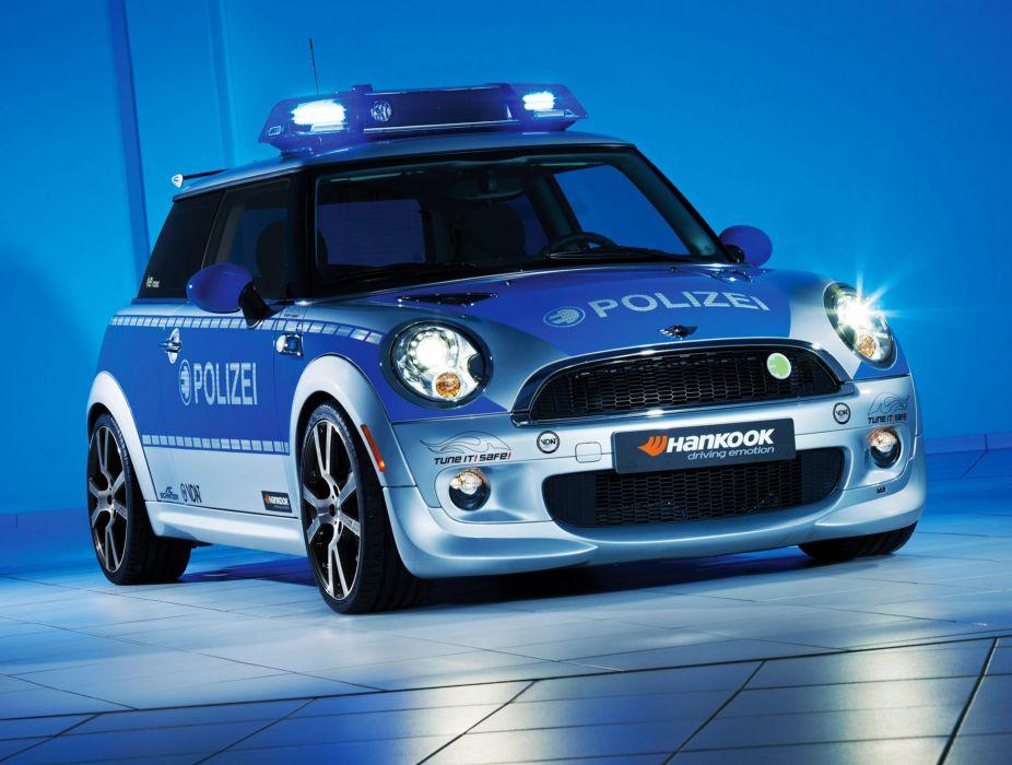 2010 AC-Schnitzer MINI-E Police mini  n wallpaper