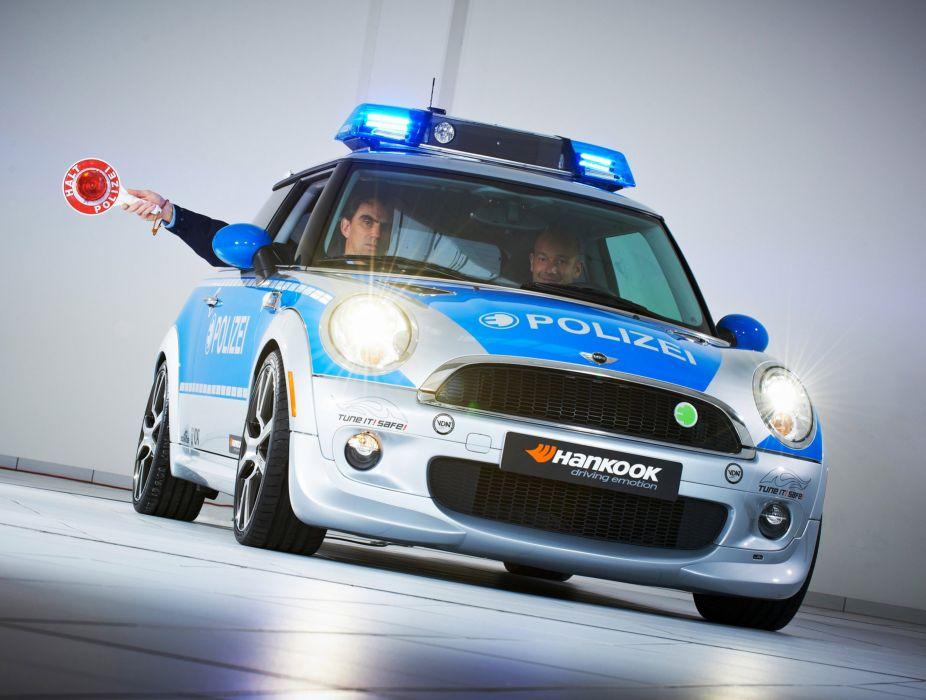 2010 AC-Schnitzer MINI-E Police mini wallpaper