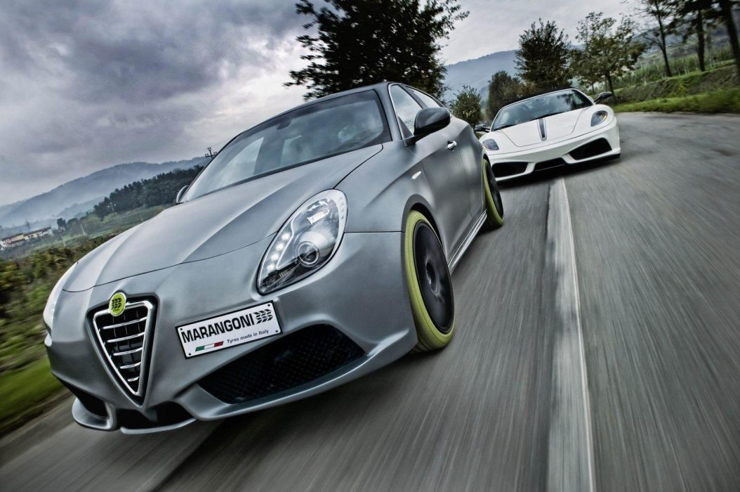 2010 Alfa Romeo Giulietta G430 iMove tuning concept concepts w wallpaper
