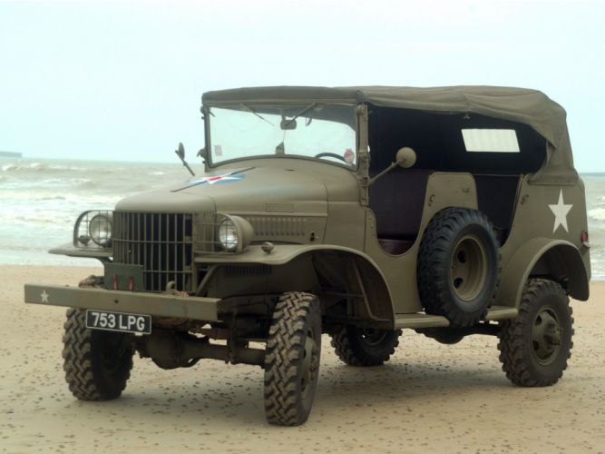 1941 Dodge WC-23 T21 military truck trucks wallpaper