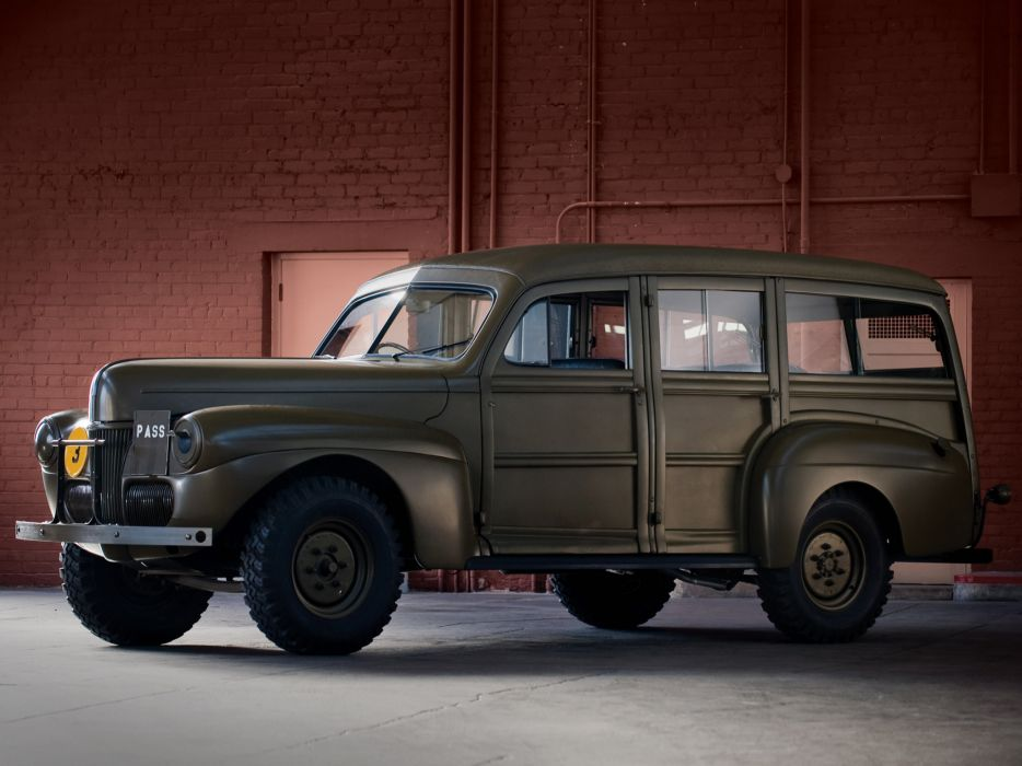 1941 Ford V-8 C11 ADF Staff 11A-79 truck trucks military d wallpaper