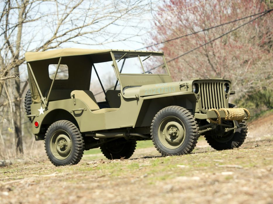 1942 Ford GPW military 4x4 g wallpaper