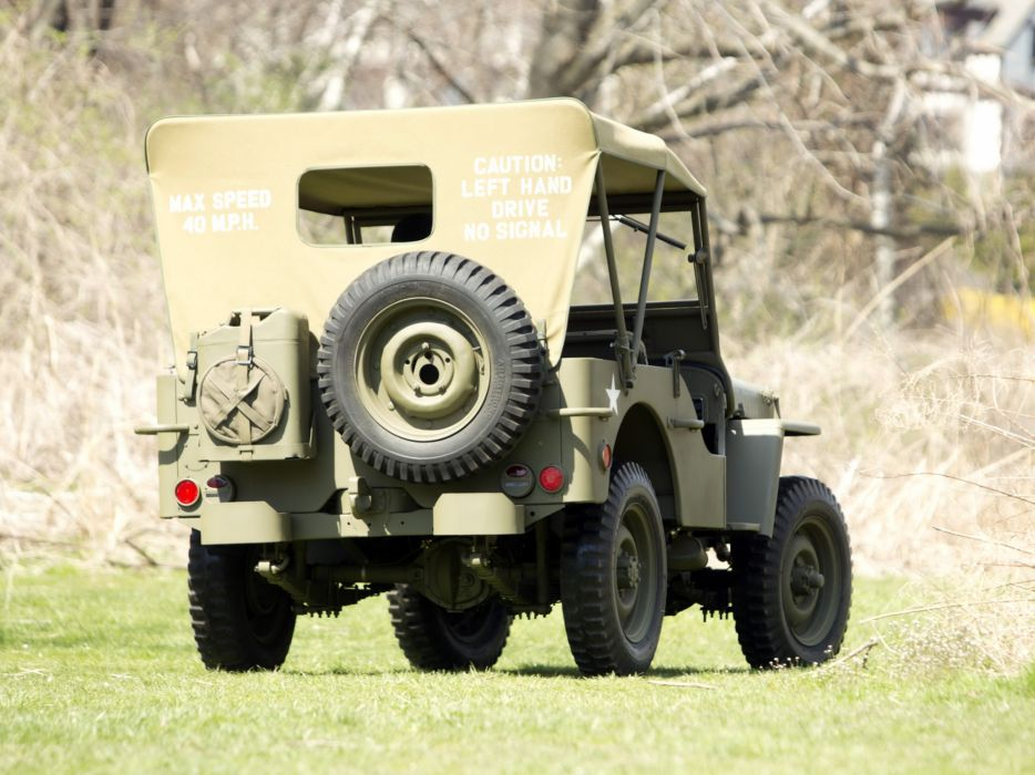 1942 Ford GPW military 4x4 offroad     g wallpaper