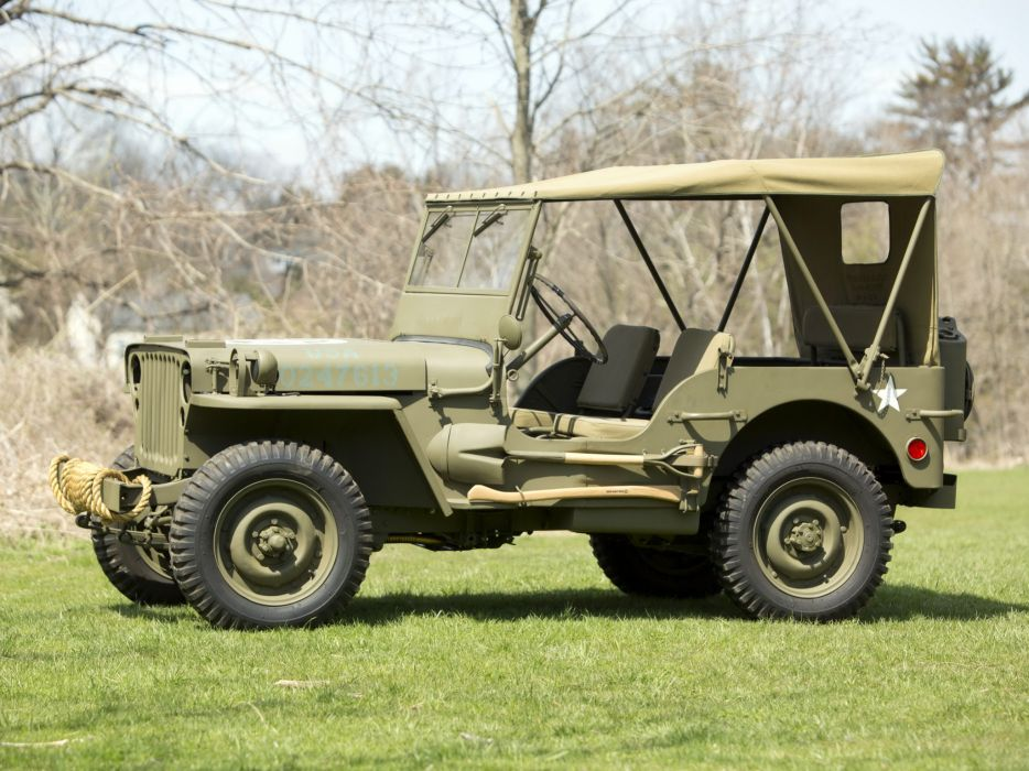 1942 Ford GPW military 4x4 offroad wallpaper