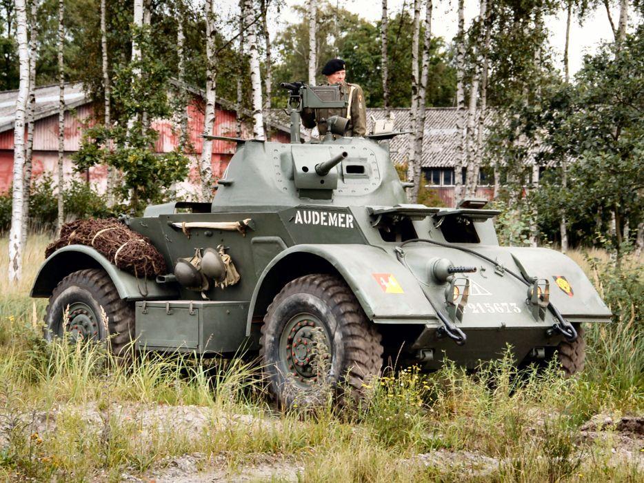 1942 T17E1 Staghound Mk-I truck trucks military wallpaper
