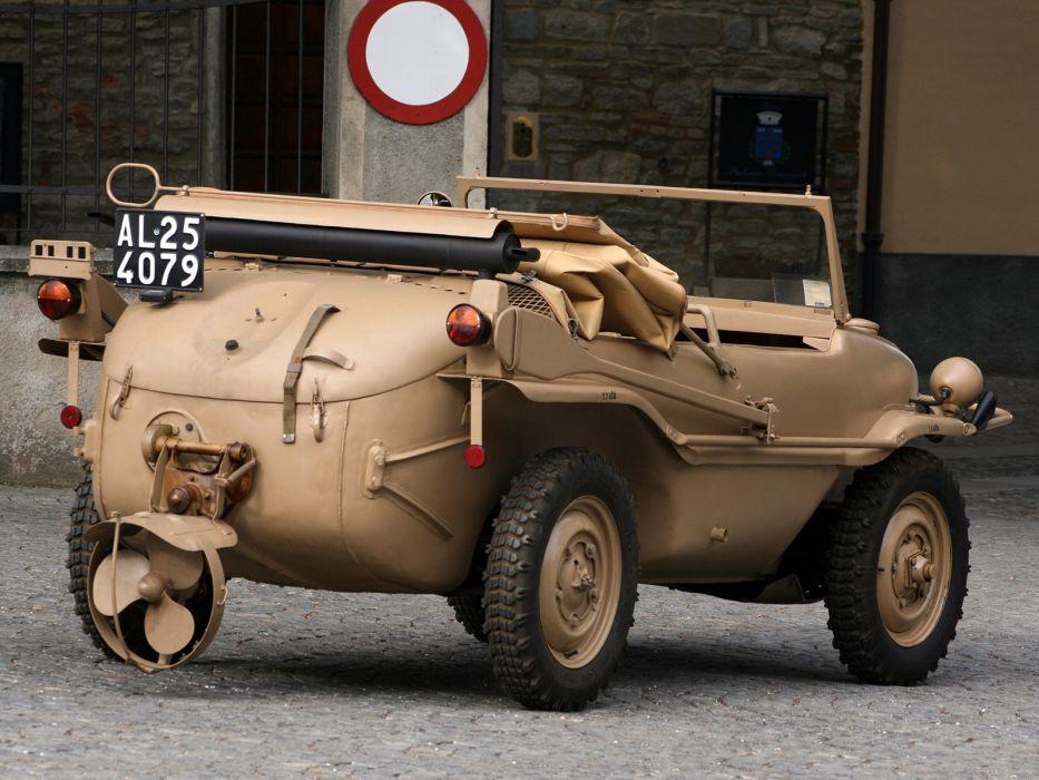 1942 Volkswagen Type-166 Schwimmwage military truck trucks wallpaper
