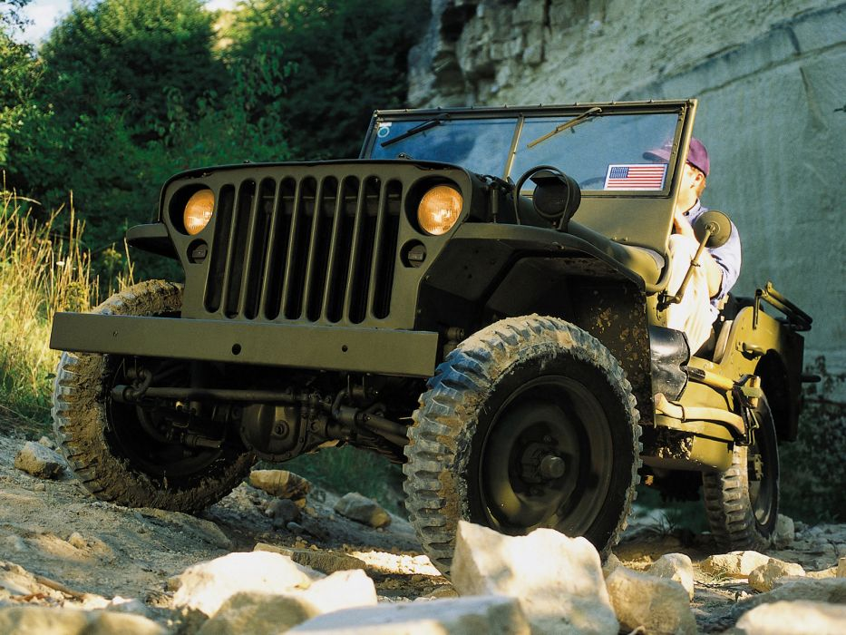 1942 Willys M-B military offroad 4x4      g wallpaper