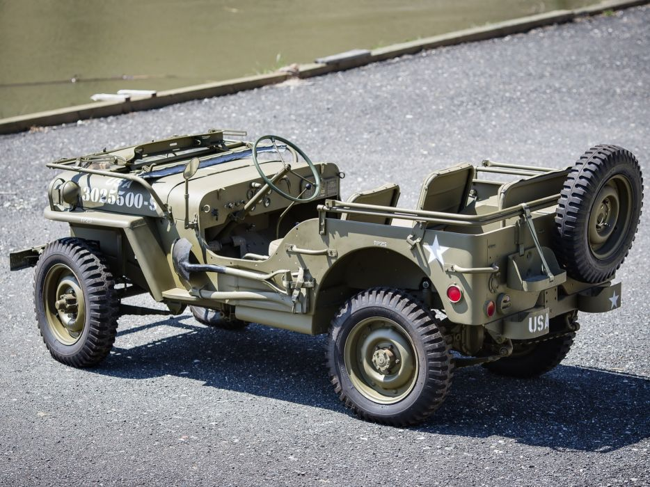 1942 Willys M-B military offroad 4x4  c wallpaper