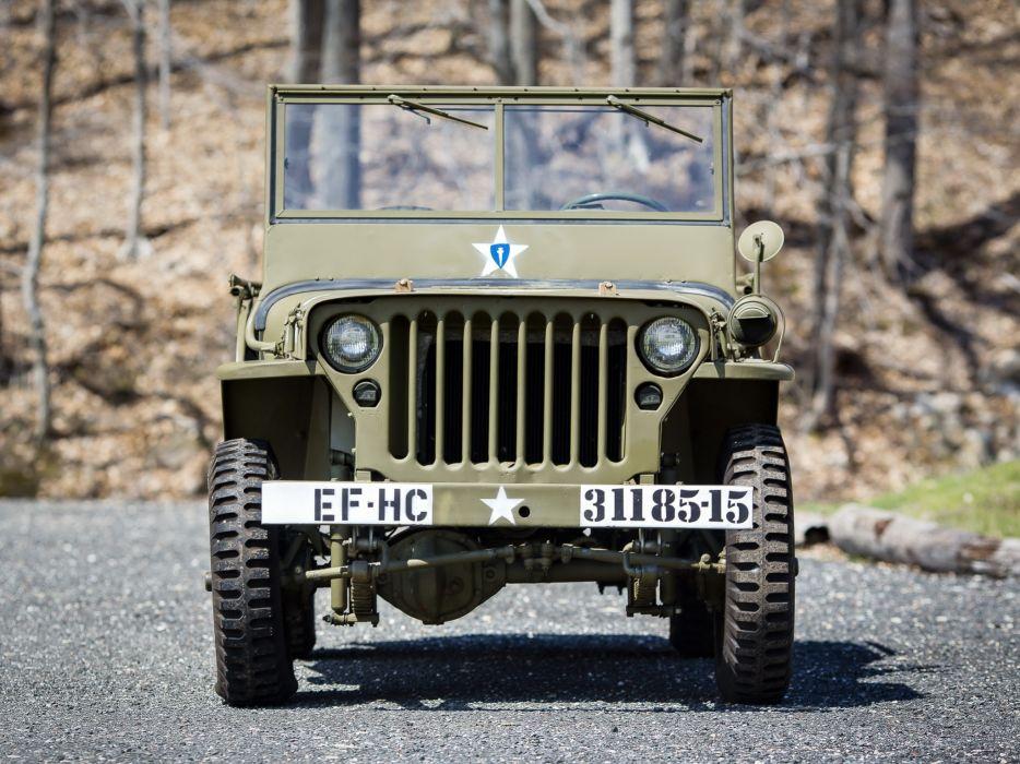 1942 Willys M-B military offroad 4x4 q wallpaper
