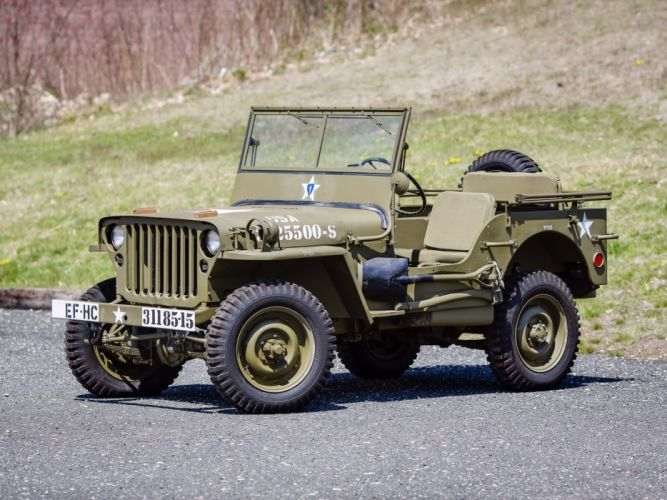 1942 Willys M-B military offroad 4x4 wallpaper