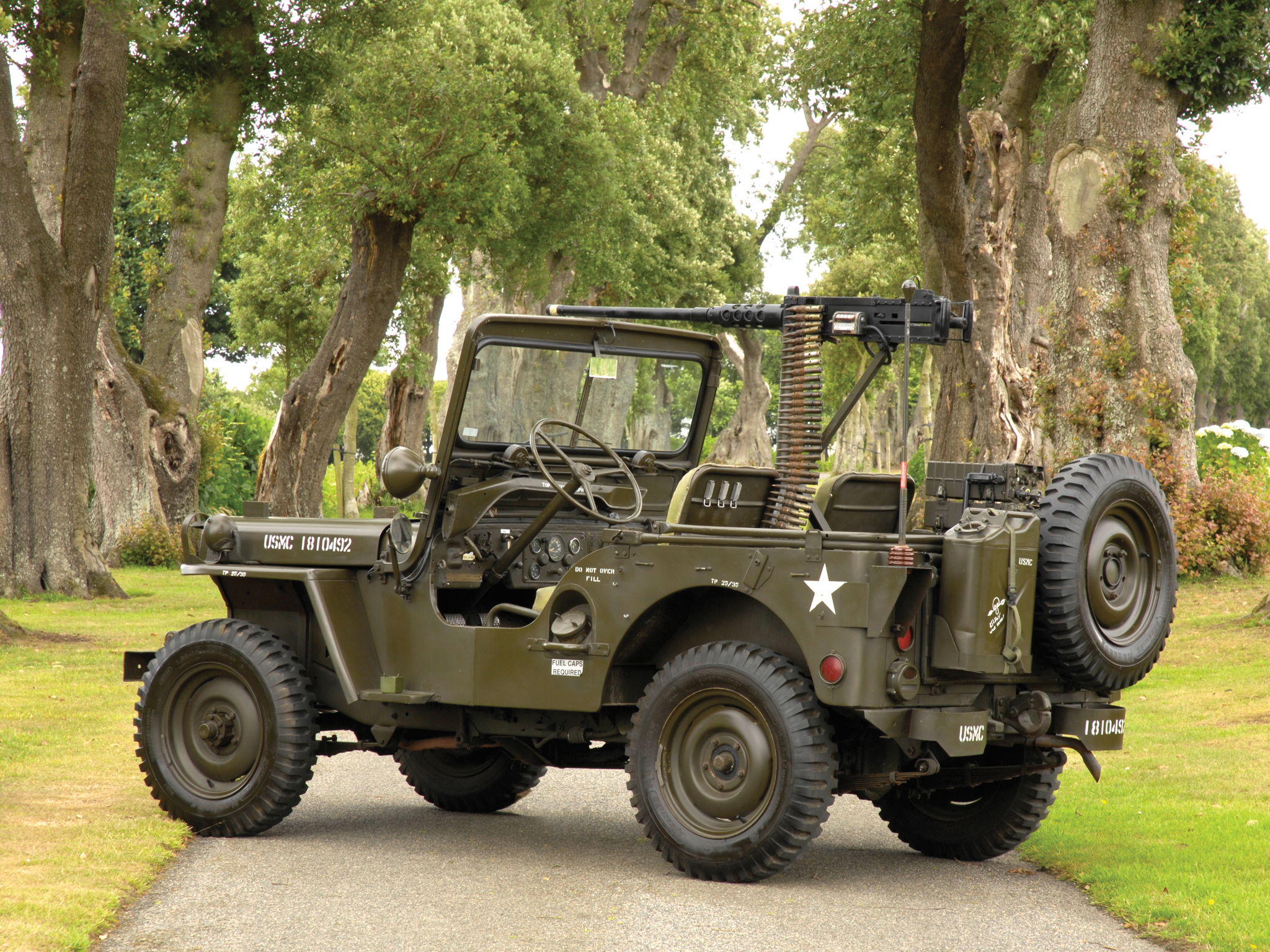 Hotchkiss M201 Jeep For Sale >> Willys Jeeps Vintage Military Trucks   Autos Post