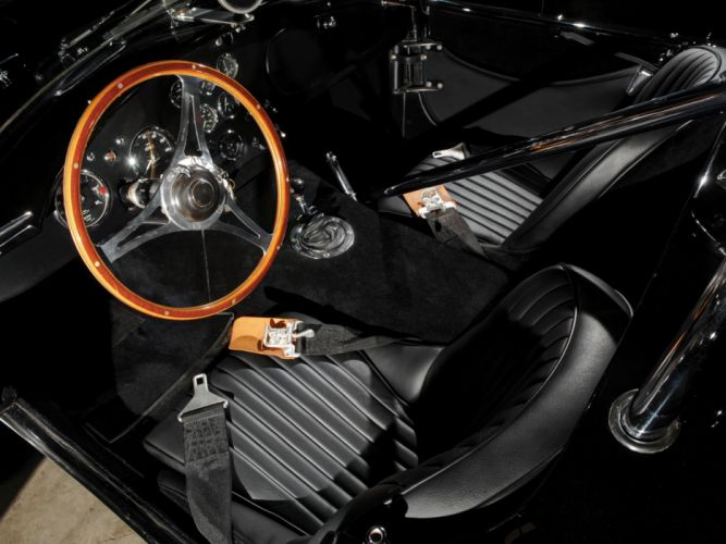 1962 Shelby Cobra 289 Factory Competition CSX 2032 classic muscle supercar supercars race racing interior wallpaper