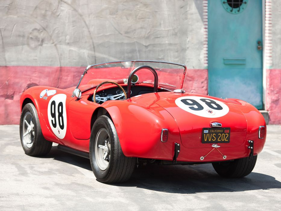 1963 Shelby Cobra 289 Factory Team CSX 2129 muscle classic supercar supercars race racing  f wallpaper