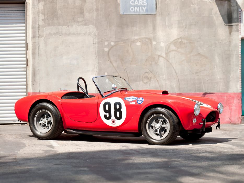 1963 Shelby Cobra 289 Factory Team CSX 2129 muscle classic supercar supercars race racing wallpaper