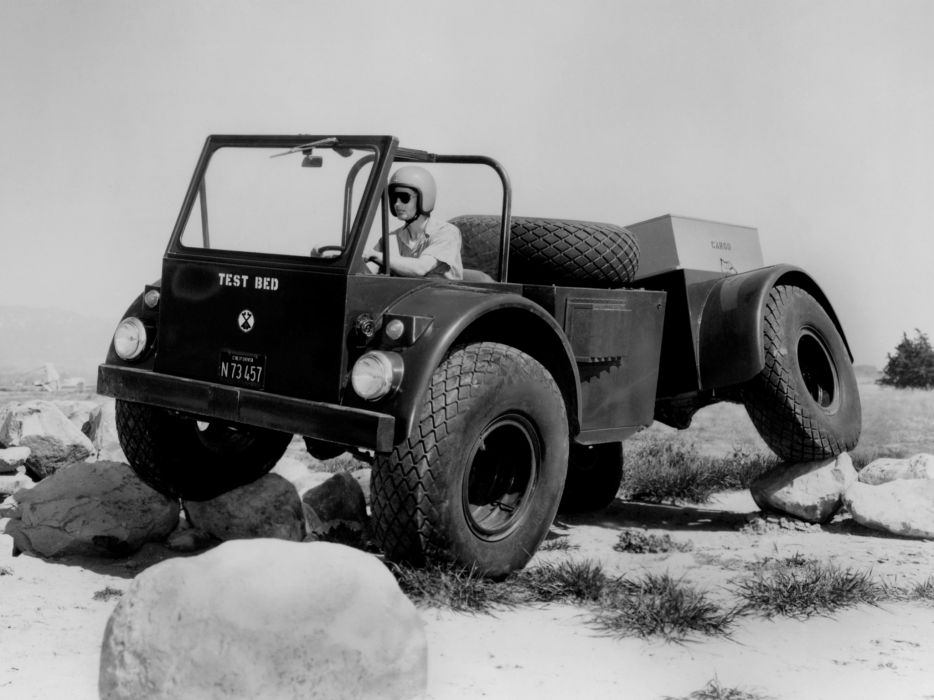1964 Chevrolet Sidewinder Prototype 4x4 offroad military truck trucks wallpaper