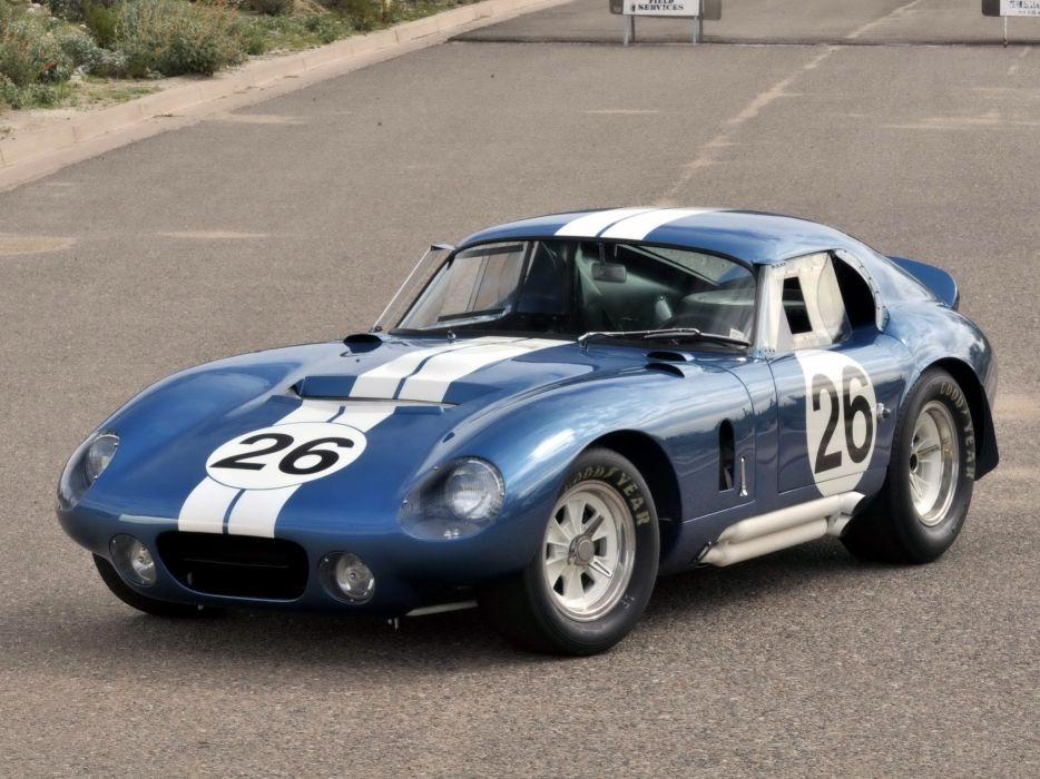 1964 Shelby A-C Cobra Daytona Coupe race racing supercar supercars muscle classic wallpaper