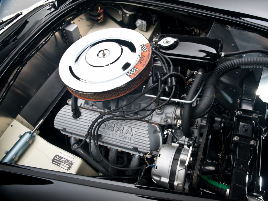 1964 Shelby Cobra 289 MkII supercar supercars classic muscle engine engines wallpaper