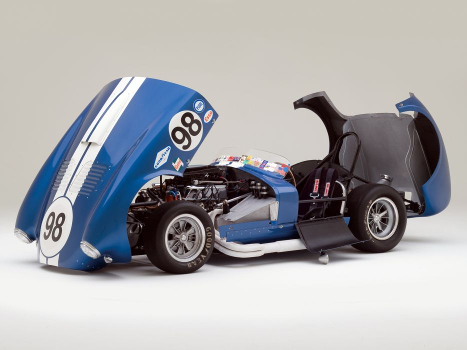1964 Shelby Cobra 427 Prototype CSX 2196 supercar supercars classic muscle race racing engine engines  r wallpaper