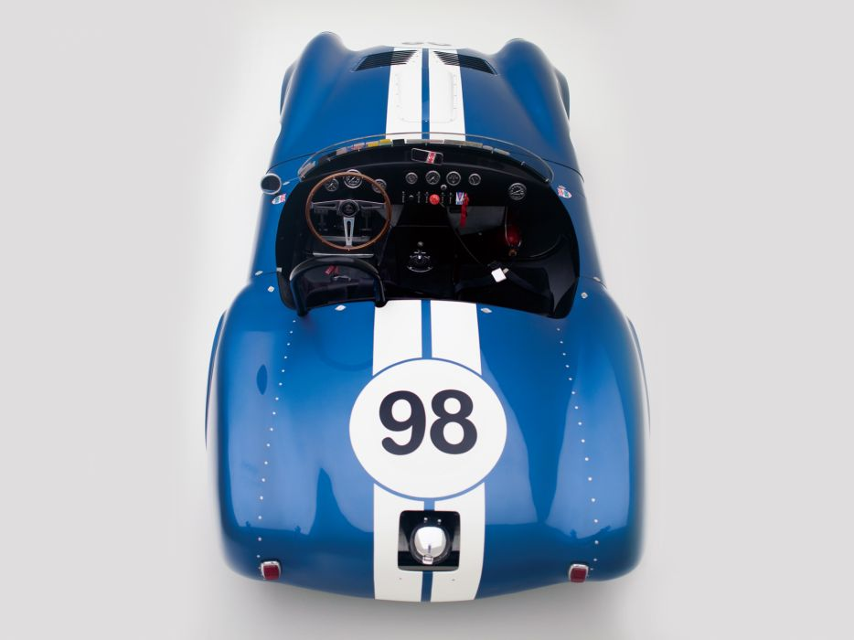 1964 Shelby Cobra 427 Prototype CSX 2196 supercar supercars classic muscle race racing interior  d wallpaper