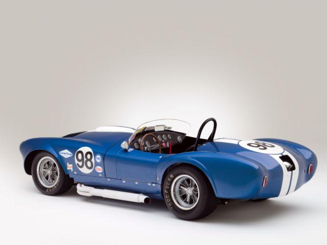 1964 Shelby Cobra 427 Prototype CSX 2196 supercar supercars classic muscle race racing interior wallpaper