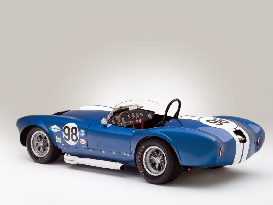 1964 Shelby Cobra 427 Prototype CSX 2196 supercar supercars classic muscle race racing interior wallpaper