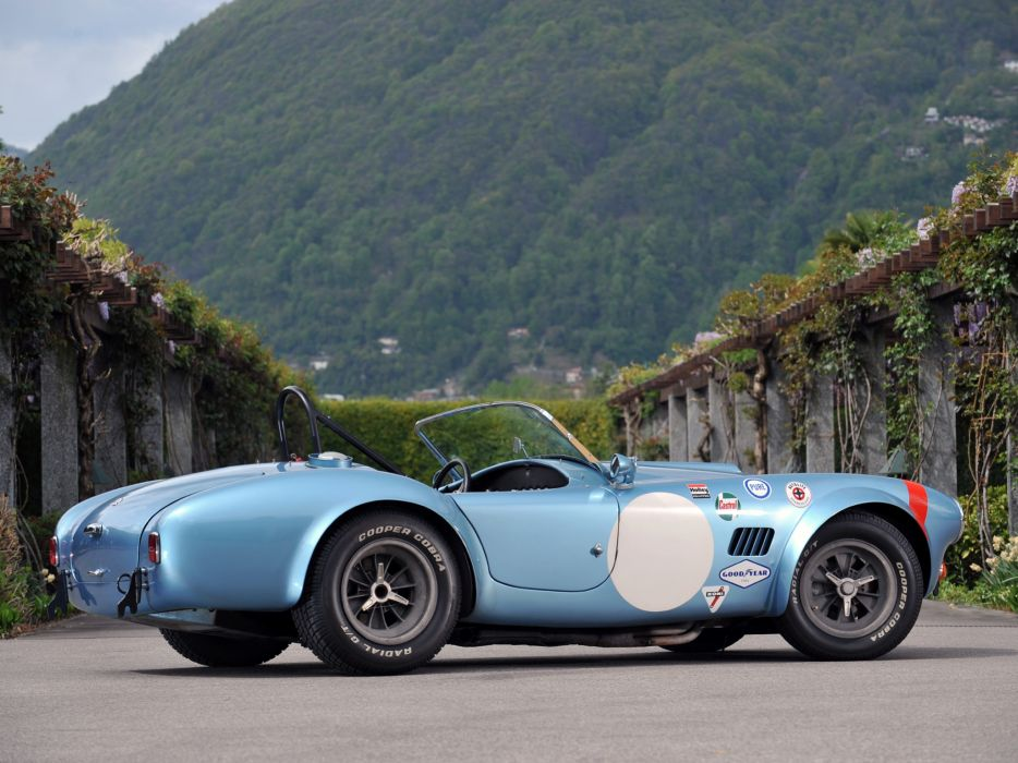 1964 Shelby Cobra Competition Roadster race racing muscle classic supercar supercars     f wallpaper