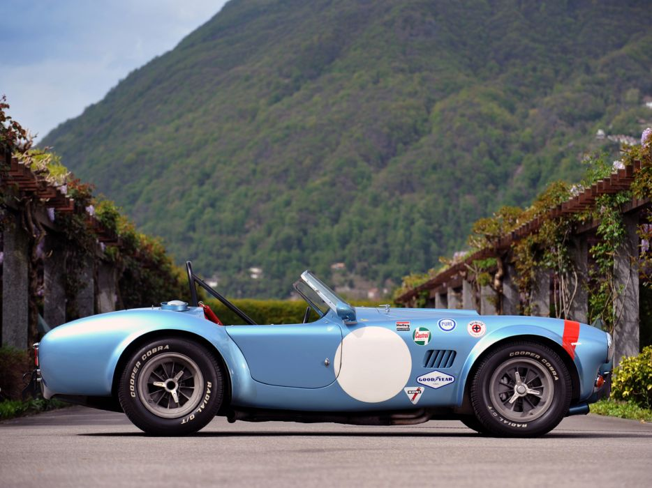 1964 Shelby Cobra Competition Roadster race racing muscle classic supercar supercars a wallpaper