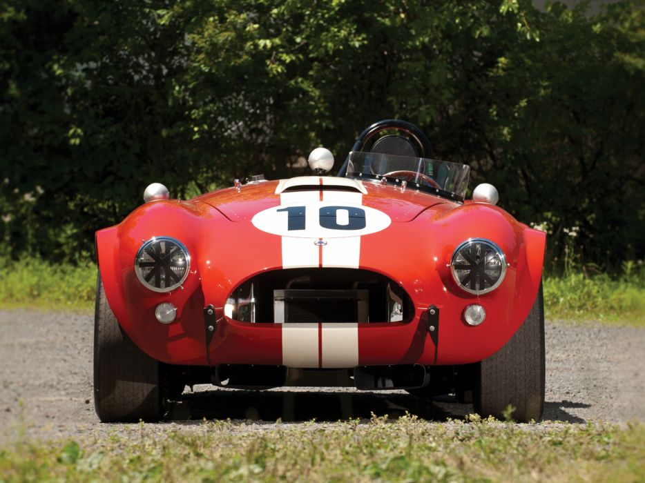 1964 Shelby Cobra Competition Roadster race racing muscle classic supercar supercars c wallpaper