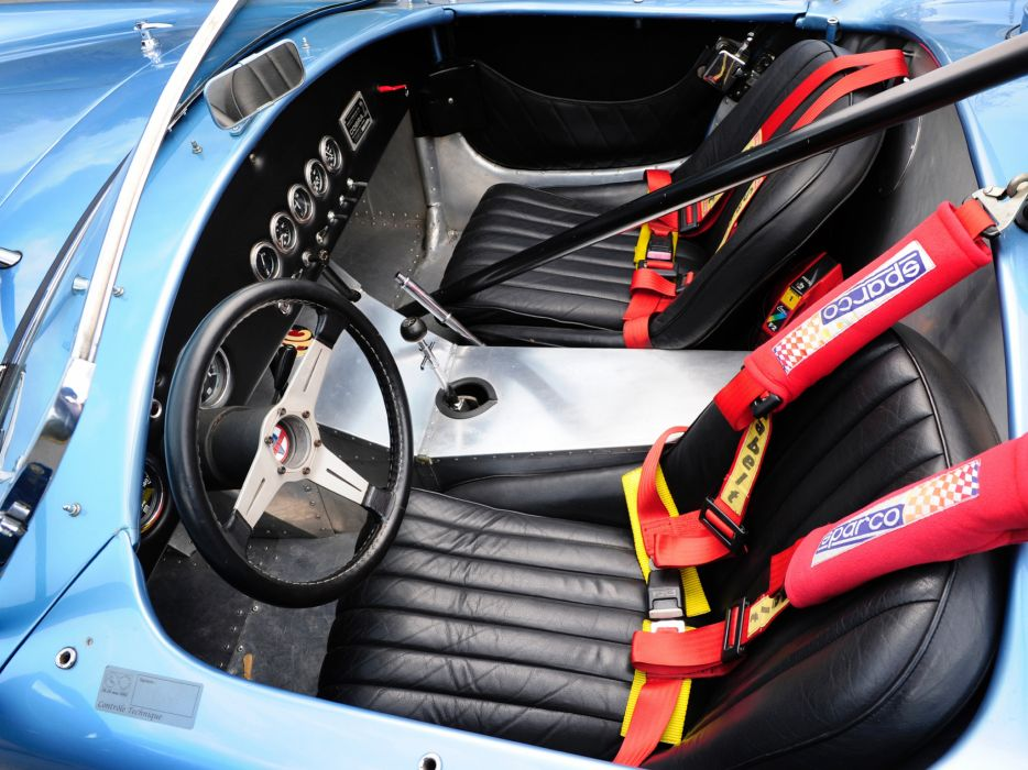 1964 Shelby Cobra Competition Roadster race racing muscle classic supercar supercars interior   v wallpaper